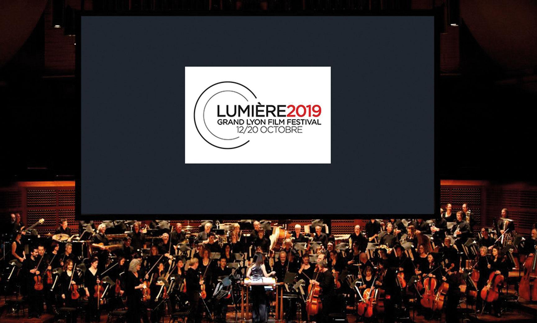 Festival Lumière 2019 écran cinéma orchestre