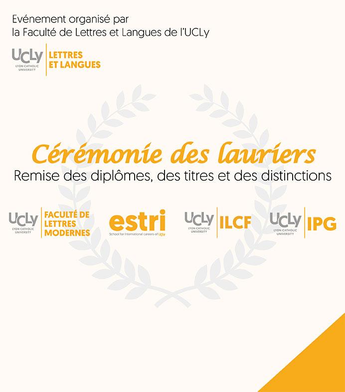 Actu - Invitation Cérémonie des lauriers - remise des diplômes