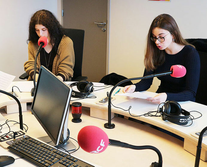 projet Radio - RCF Lyon - étudiantes