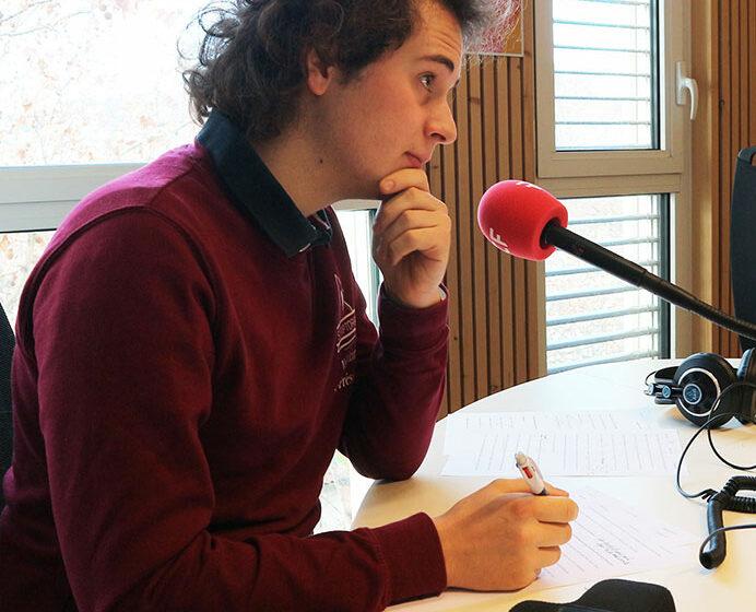 Radio RCF Lyon - étudiants de Lettres modernes