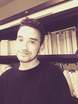 Arthur étudiant en Master MEEF à l'UCLy