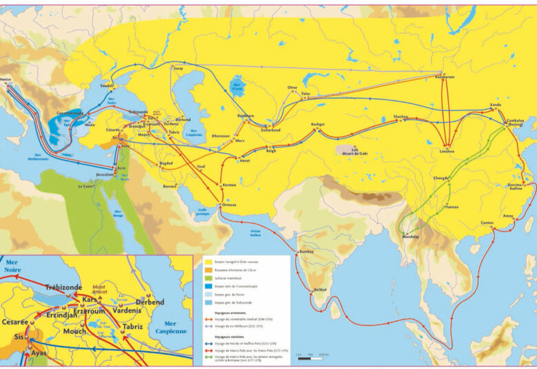 ASIE CENTRALE - Empire Mongol - chaire Eurasie