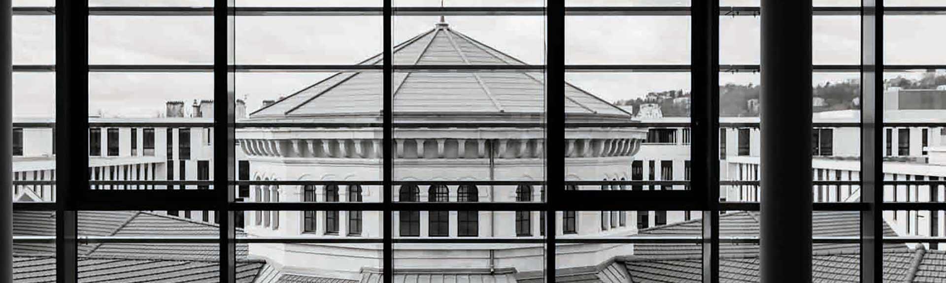 Vue du bâtiment campus St Paul
