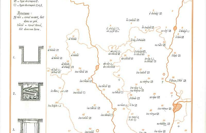 carte 2 atlas linguistique lyonnais - ALLy en ligne - IPG