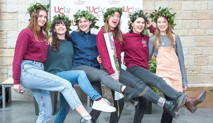 Cérémonie des lauriers - promotion 2017-2018 - danse étudiantes