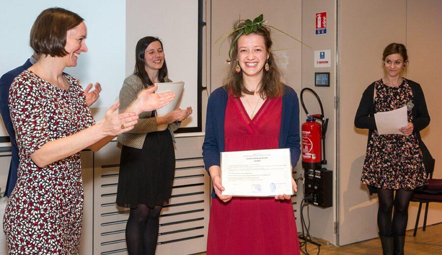 Cérémonie des lauriers - promotion 2017-2018 - étudiants - Vinay - Jeannerod - - Deshors - Jeantroux