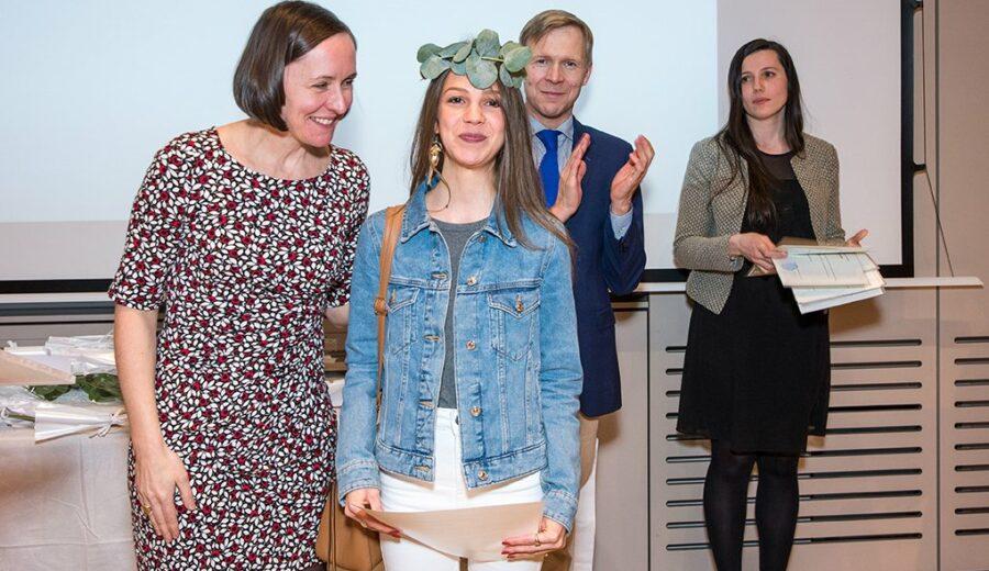 Cérémonie des lauriers - promotion 2017-2018 - étudiants - Vinay - Jeannerod