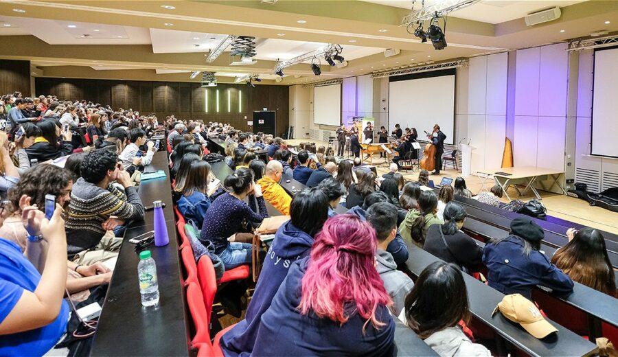 Cérémonie des lauriers - promotion 2017-2018 - concert de l'Hostel Dieu - amphithéâtre