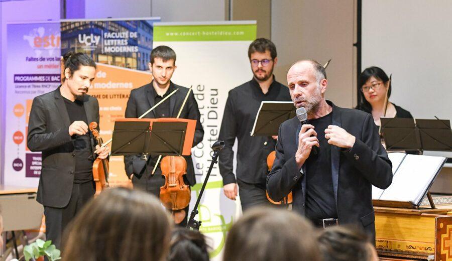 Cérémonie des lauriers - promotion 2017-2018 - concert de l'Hostel Dieu