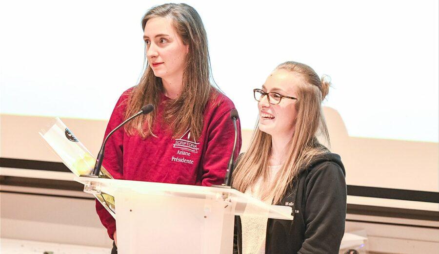 Cérémonie des lauriers - promotion 2017-2018 - étudiantes - discours