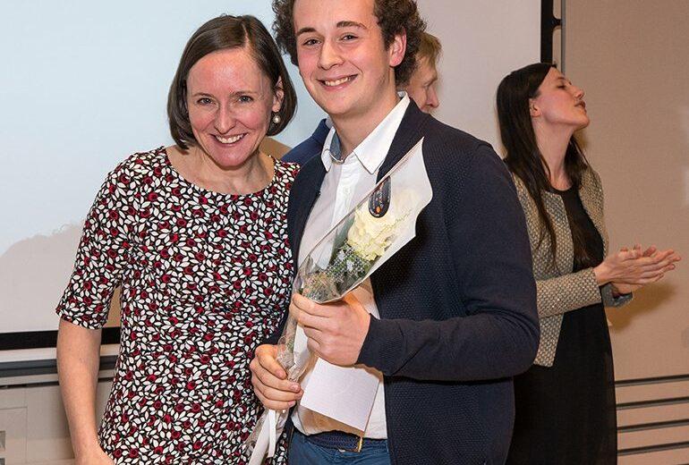Cérémonie des lauriers - promotion 2017-2018 - étudiants - Vinay