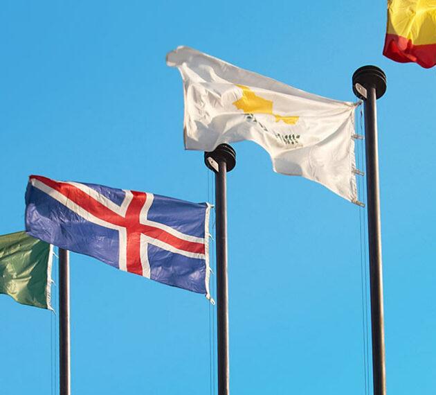 5 drapeaux