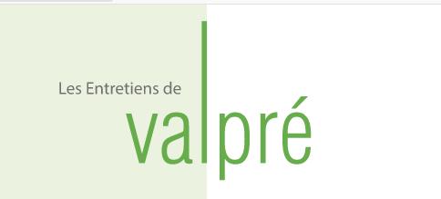 Partenaire : Entretiens de Valpré