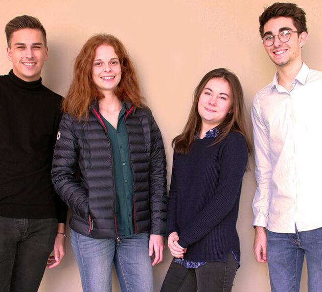 4 étudiants en droit