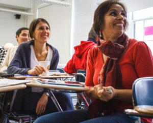 Etudiants en formation en développement local au CIEDEL