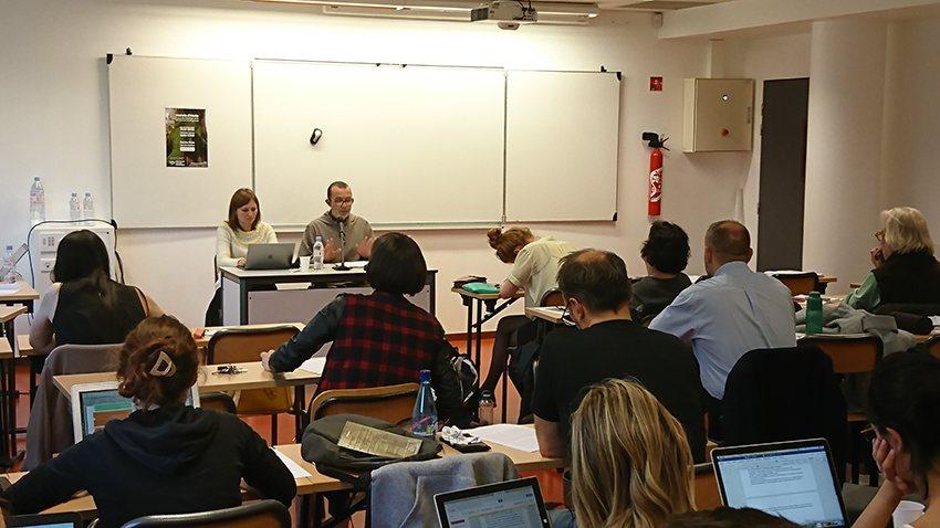 Journée d'étude - étudiants - Ayroulet - Reiche de Vigan