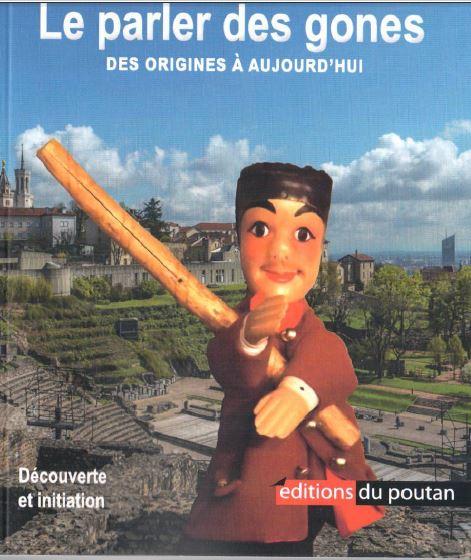 Le parler des gones : couverture avec la marionnette de guignol
