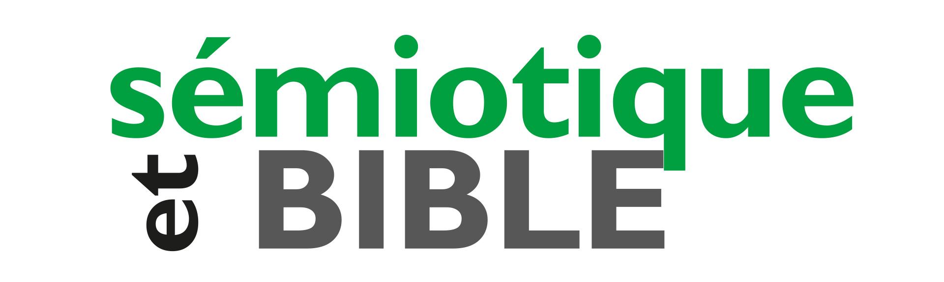 Logo de la revue Sémiotique et Bible