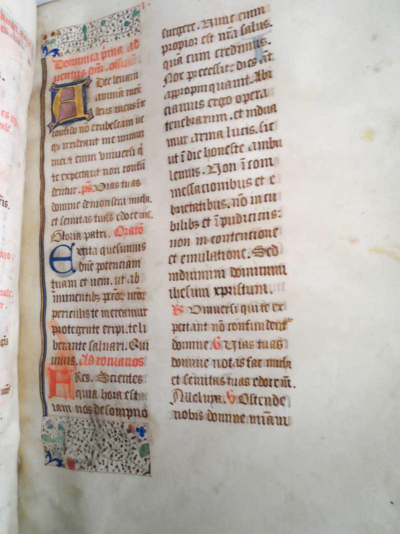 Livre ancien - Missel de Saint-Sauveur-en-Rue