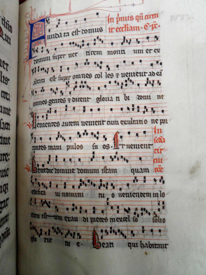 Livre ancien - Pontifical romain du 13e siècle