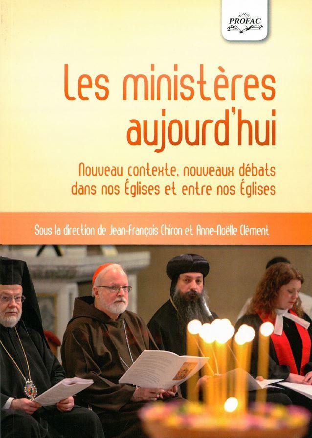 Page de couverture du livre Les ministères aujourd'hui - Profac