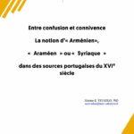 Publication - Entre confusion et connivence La notion d'Arménien... - chaire eurasie