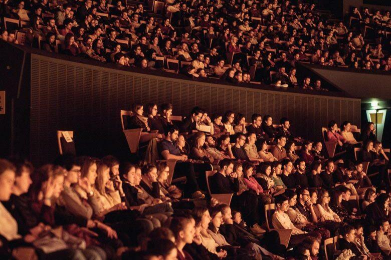 Auditorium de Lyon - Intérieur de la salle de concert