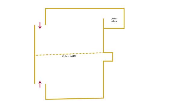 Frederic Ozanam Room Plan