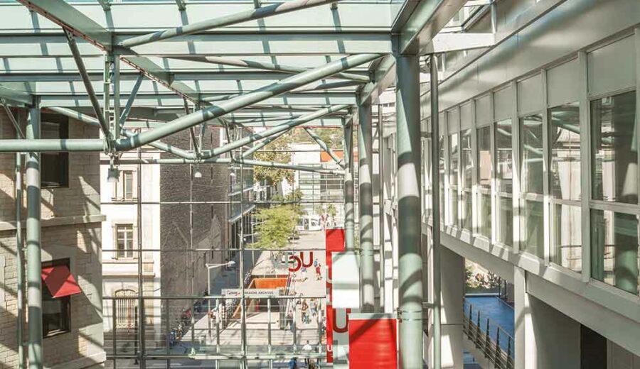 rue intérieure campus saint-paul