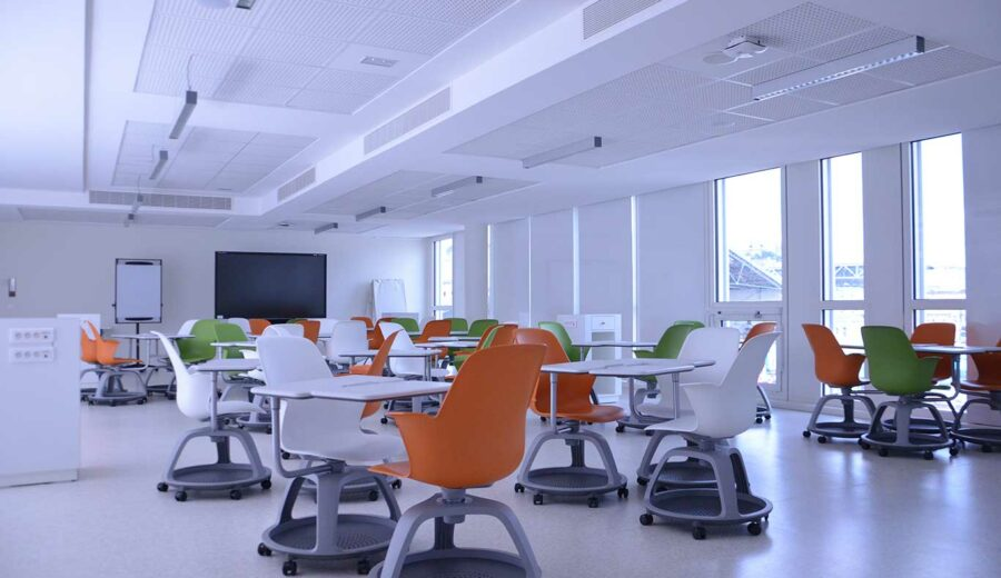 Co-working room and learning lab