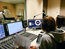Unisphère, la Webradio étudiante de l'UCLy en partenariat avec RCF