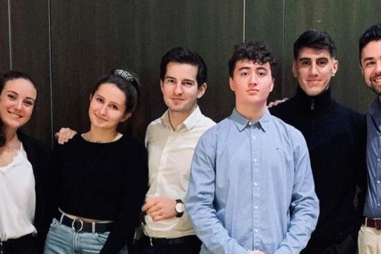 L'équipe de l'association Les plaideurs de l'UCLy