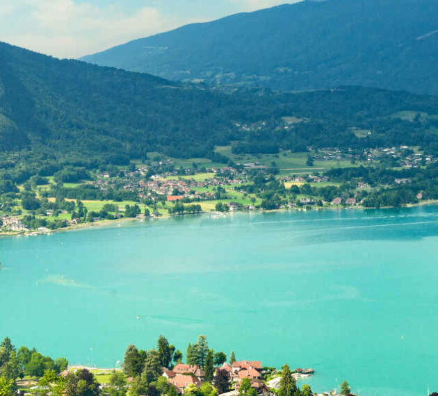 Photo du lac d'Annecy