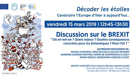 Exposition « Discussion sur le Brexit »