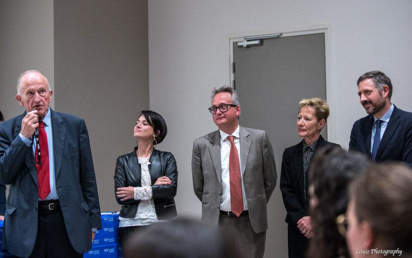 Finale du Concours d'éloquence 2019 - Photo du jury
