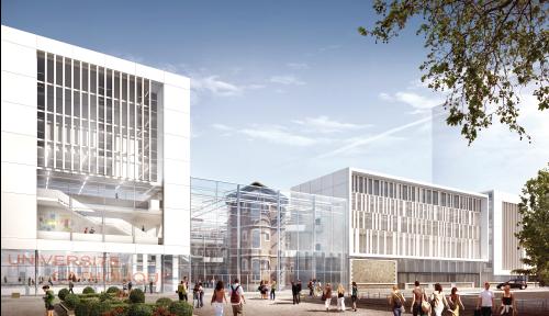 Nouveau campus de saint paul - Histoire UCLy