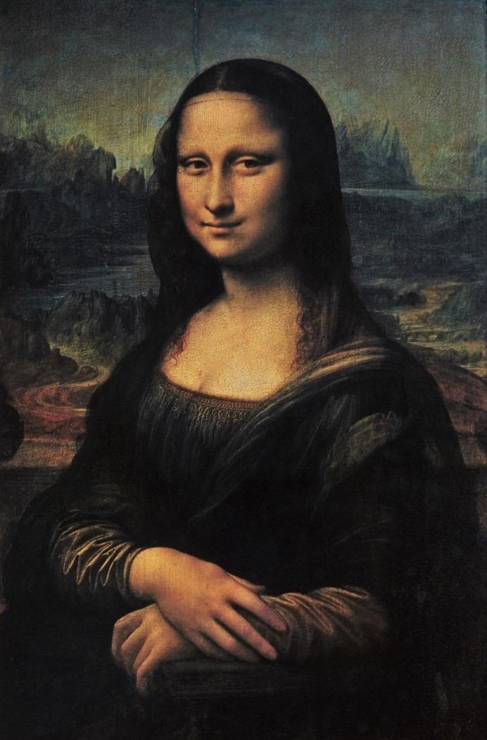 10. Portrait de femme (La Joconde ou Mona Lisa). Leonard de Vinci