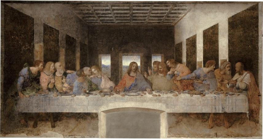 11. Le Cénacle. Leonard de Vinci