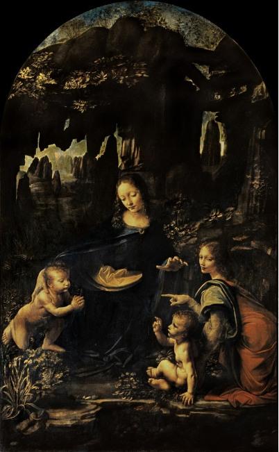 12. La Vierge aux Roches. Leonard de Vinci