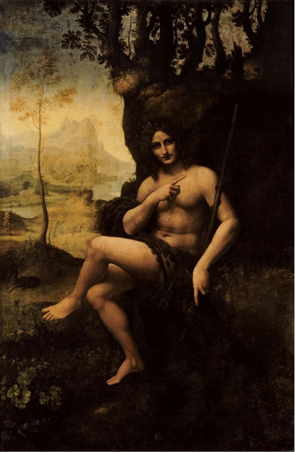 16. Bacchus. Leonard de Vinci