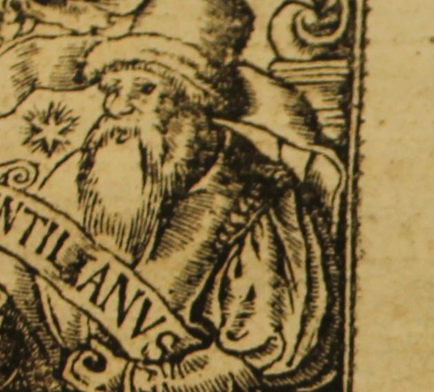 Frontispice Gryphe Commentariorum linguae latinae 1536