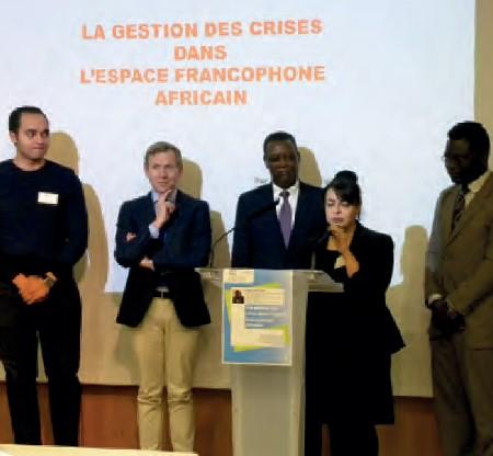 conférence gestion des crises en afrique unesco