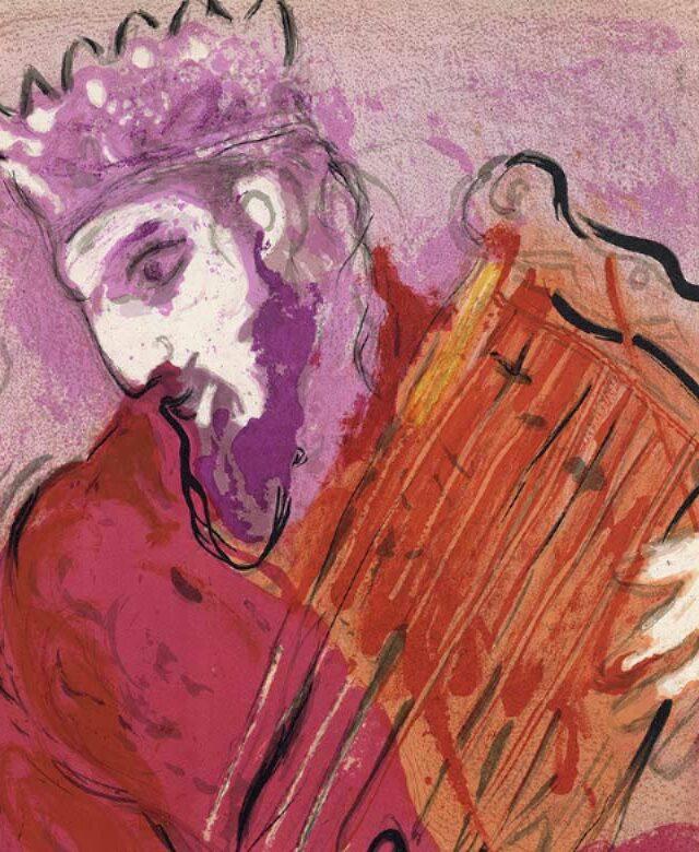Roi-David-Chagall-Leçon d'adieu Abadie