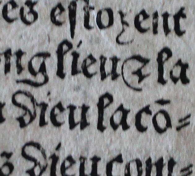 Page de garde de l'incunable imprimé en 1495