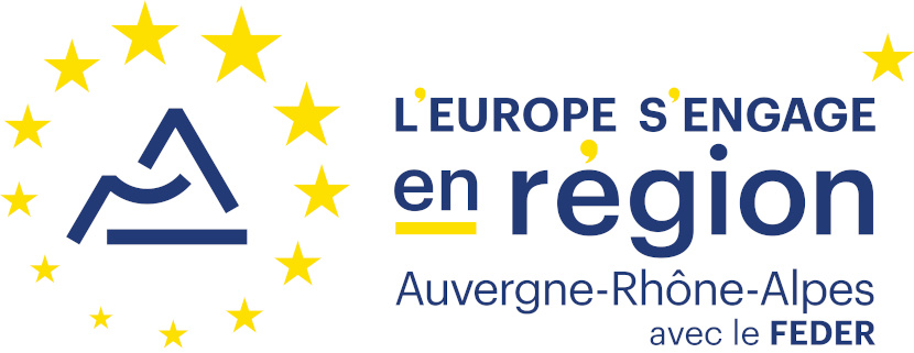 Logo L'europe s'engage en ARA avec le FEDER