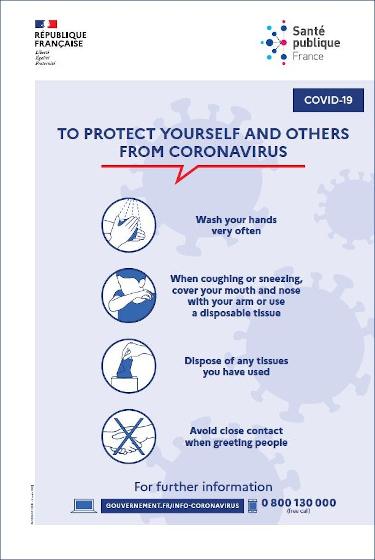 To protect from Coronavirus