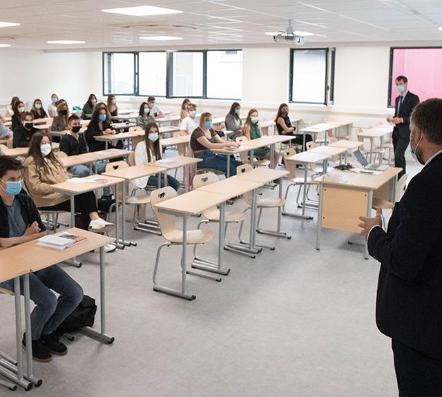 Rentrée 2020 sur le campus de l'UCLy Alpes Europe