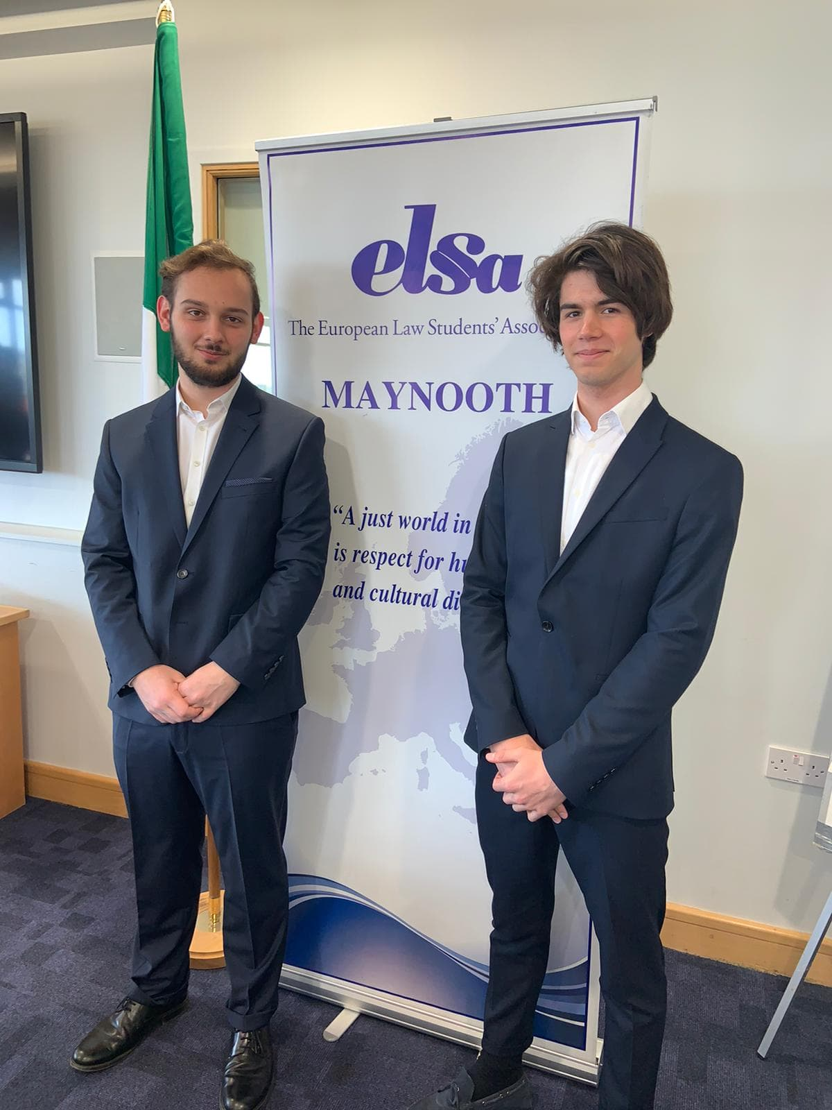 Photo des vainqueurs du ELSA negotiation competition