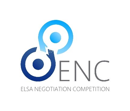 Photo logo ELSA negotiation competition