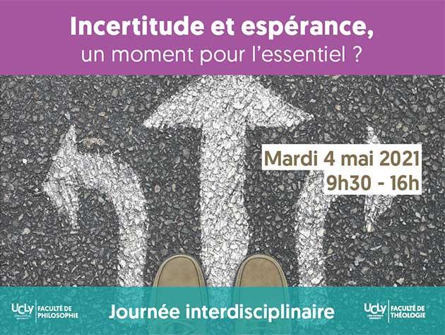 Incertitude et espérance, journée théo-philo ucly - 4 mai 2021